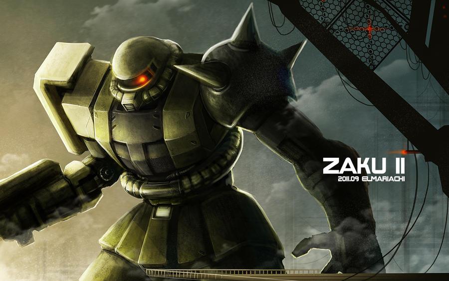 ZAKU-II by REAL-ELMARI...