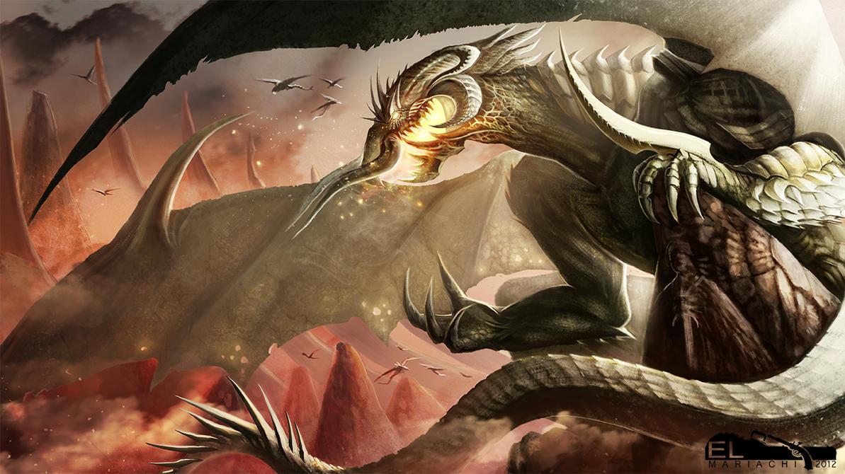 Great Dragon by REAL-ELMARIACHI