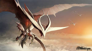 white Hunter Dragon