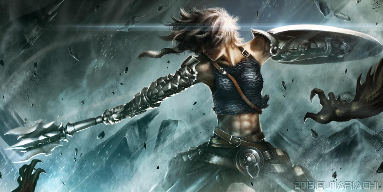 Battle Aura by REAL-ELMARIACHI