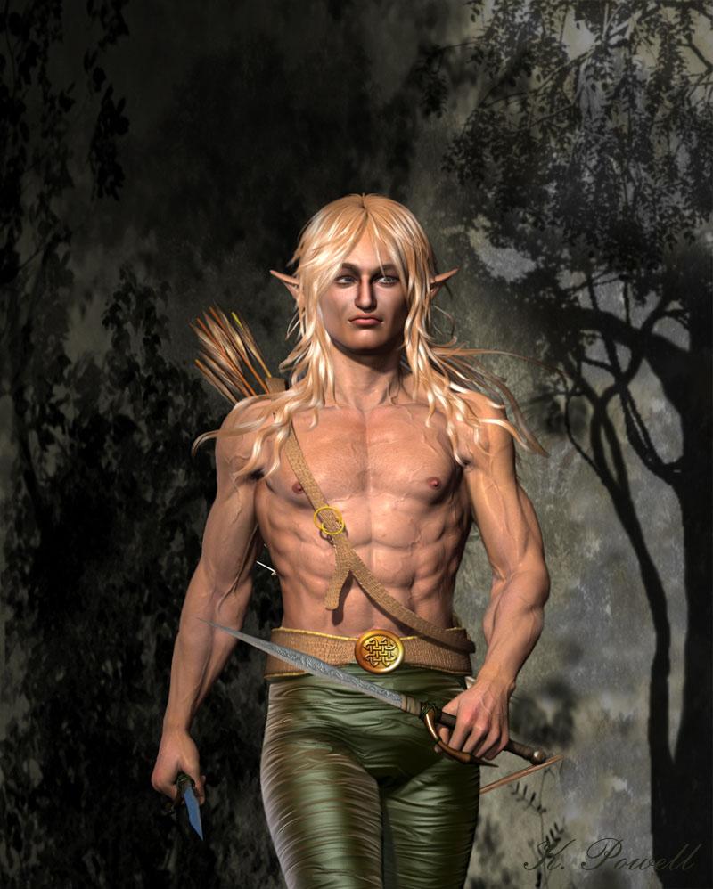 from Morgan gay fantasy art elf