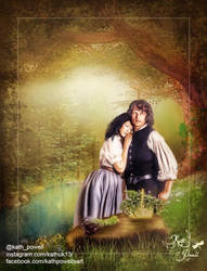 Jamie and Claire by Kath-13