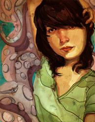 Octopus Portrait by GatoCasero