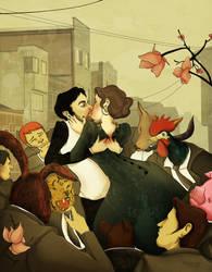 Kiss-Romance-Animal by GatoCasero
