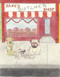 Jake's Butcher Shop in Waggles