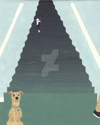 Duke and Daisy Reverse Stairs