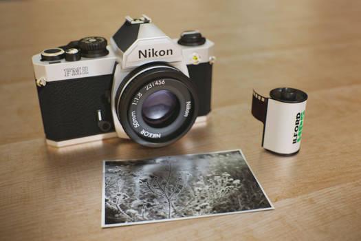 Nikon FM2 Render