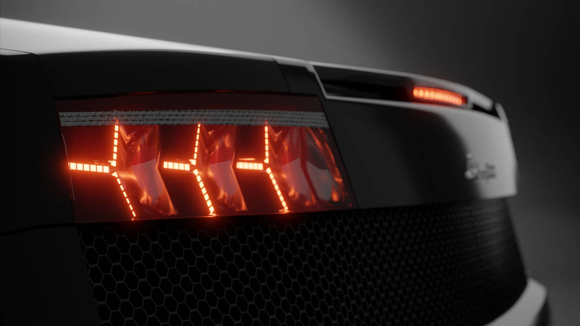 Lamborghini Gallardo 2nd Gen Tail Lights By Dalay Lamma On Deviantart