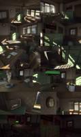 Detective office - Unity