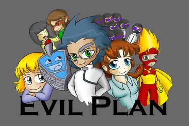 Evil Plan Chibi Cast by AlexisRoyce