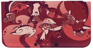 ChibiSilverWings 3DS XL Cover by AlexisRoyce