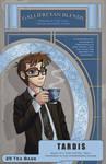 TARDIS Tea Label