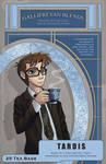 TARDIS Tea Label