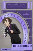 English Breakfast Tea Label by AlexisRoyce
