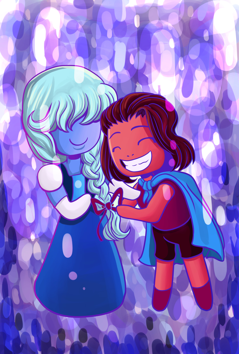 Ruby n Sapphire by AlexisRoyce