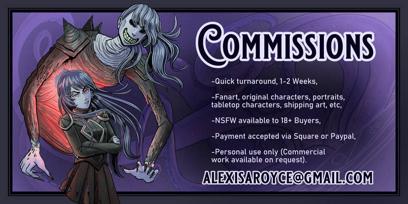 Digital commissions2 alexis royce