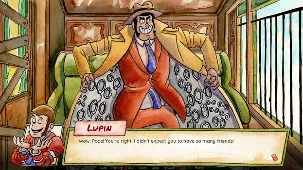 'Is Lupin Still Flirting?' Is Ready to Play!