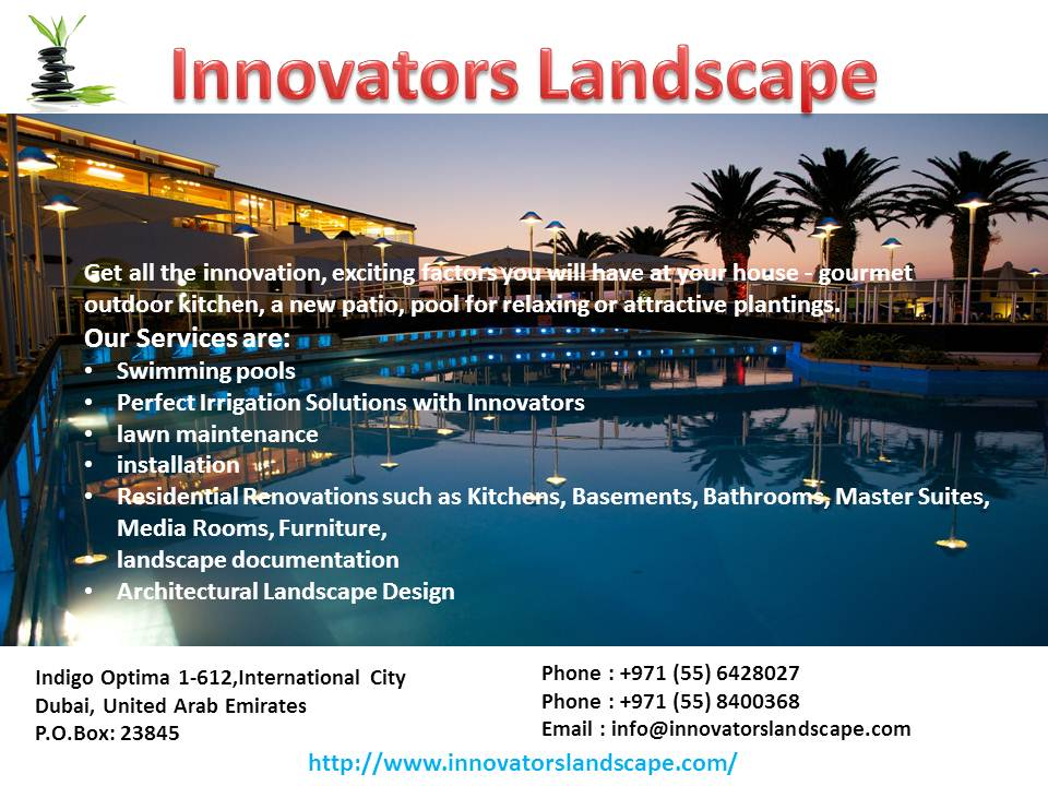 Swimming Pool Contractors In Dubai By Innovatorslandscape On Deviantart