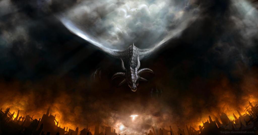 Black Dragon by treijim