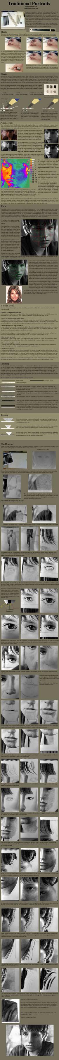 Tutorial - Graphite:Portraits