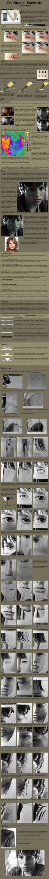 Tutorial - Graphite:Portraits by treijim