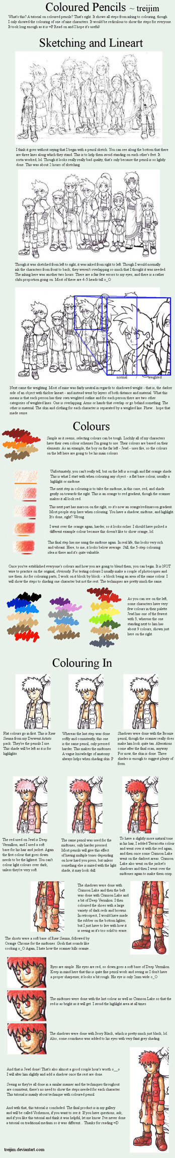 Tutorial - Colour Pencil