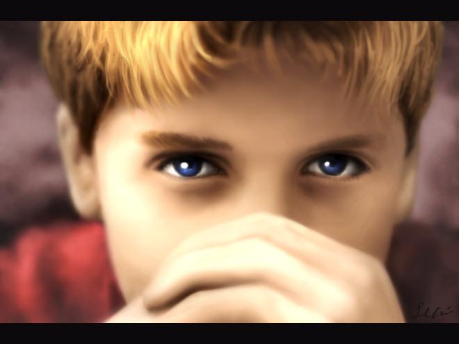 The Man Inside Child By Treijim
