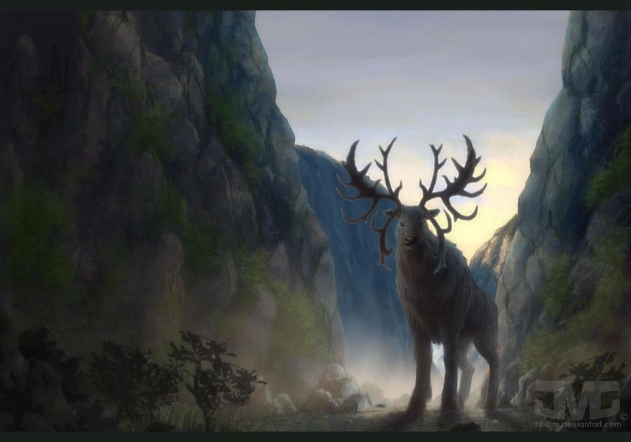 Crown of Antlers by treijim