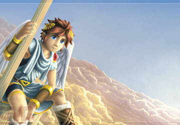 Angel Land - Pit, Kid Icarus by treijim
