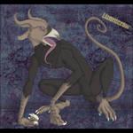 Lizardcrow by drakehawkerz