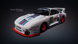1977 Porsche 935 77 Baby by DanielTalhaug