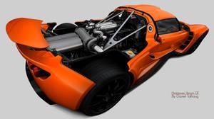Hennessey Venom GT Orange