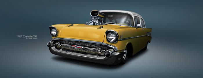 1957 Chevrolet 210 Sedan Pro Street