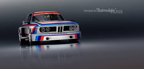 BMW E9 Batmobile CSL by DanielTalhaug