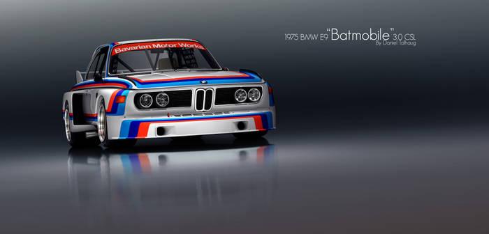 BMW E9 Batmobile CSL