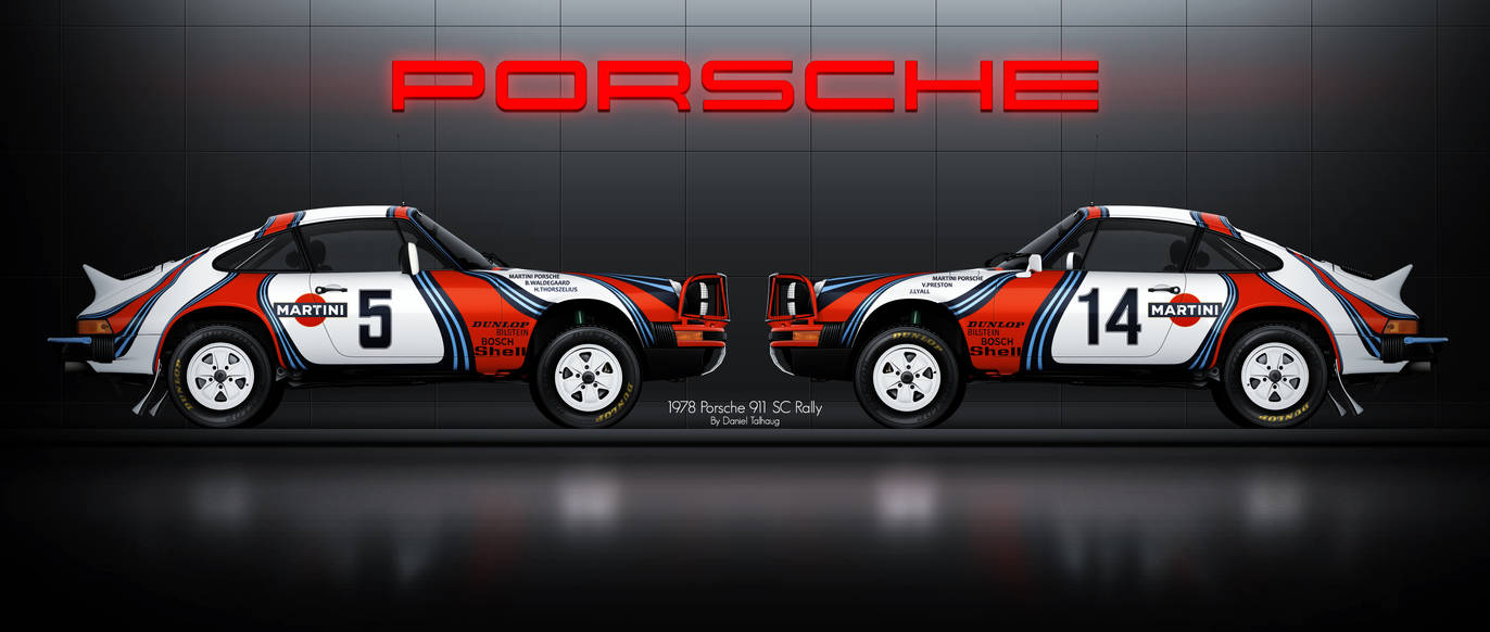 1978 Porsche 911 Sc Safari Rally Car By Danieltalhaug On Deviantart