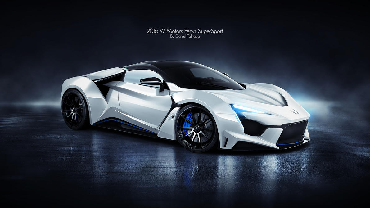 2016 W Motors Fenyr Supersport By Danieltalhaug On Deviantart