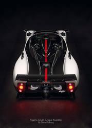 Pagani Zonda Cinque Roadster by DanielTalhaug