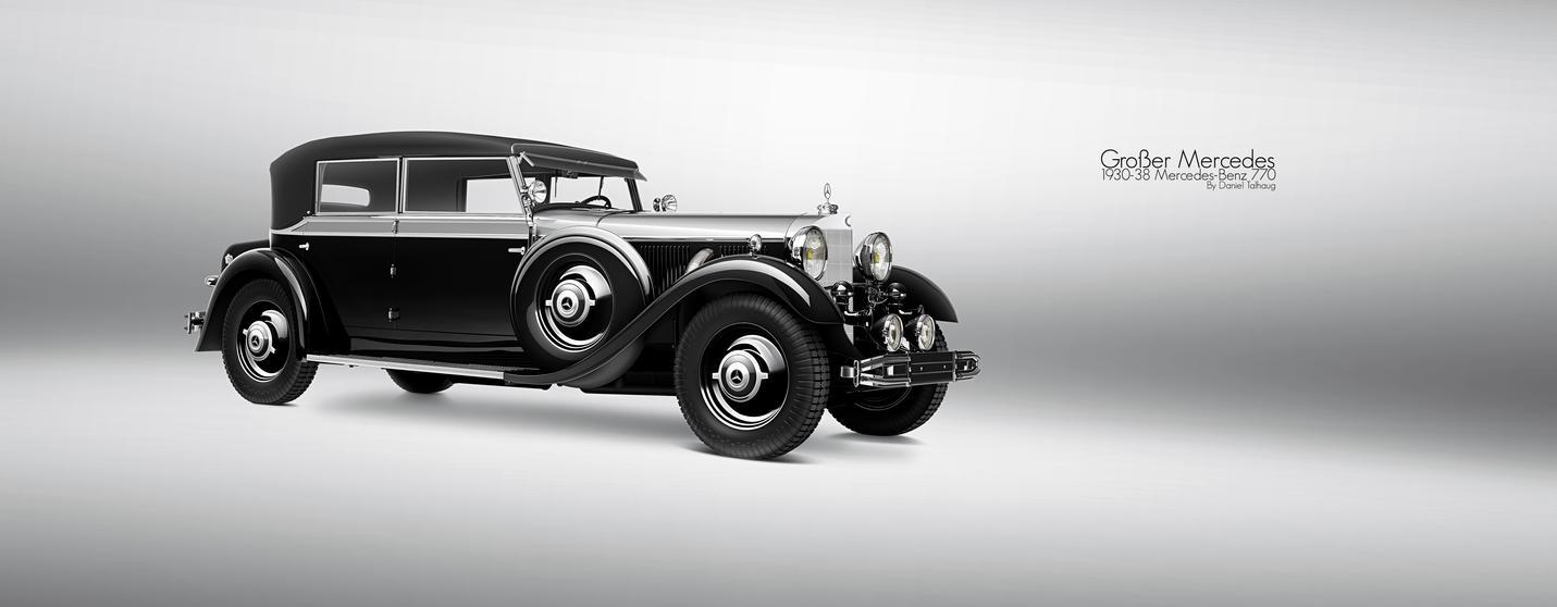1930-38 Mercedes-Benz 770 by DanielTalhaug