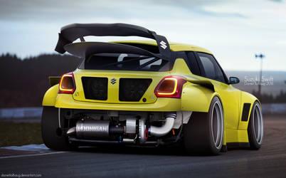 Suzuki Swift Sport by DanielTalhaug