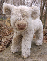 White highland cattle plush by demiveemon