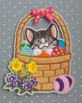 Easter basket - Brown tabby