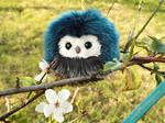 Tiny Easter Owl - Blueberry