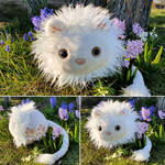 Round critters - Julius the white lion by demiveemon