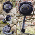 Round Critters - Hannibal the lion by demiveemon