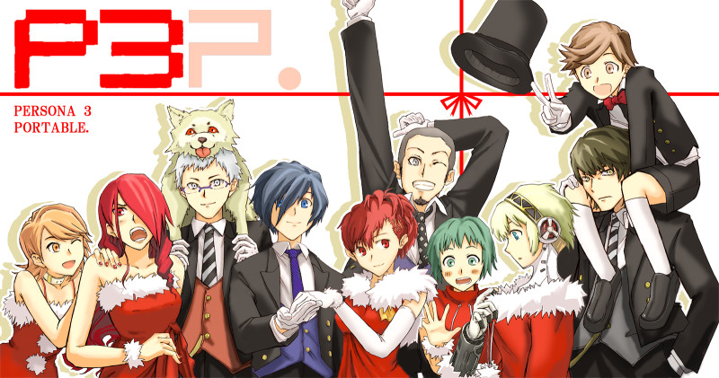 Persona 3 portable by 8malkuthvendetta8 on DeviantArt