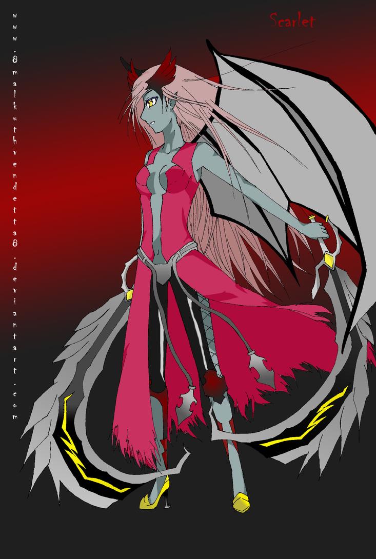 Scarlet a.k.a Blackblood by 8malkuthvendetta8