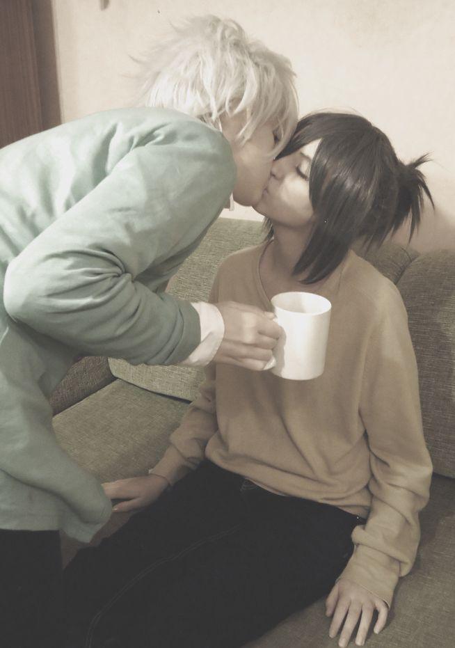 Goodnight kiss - No.6 by 25naruxsasu