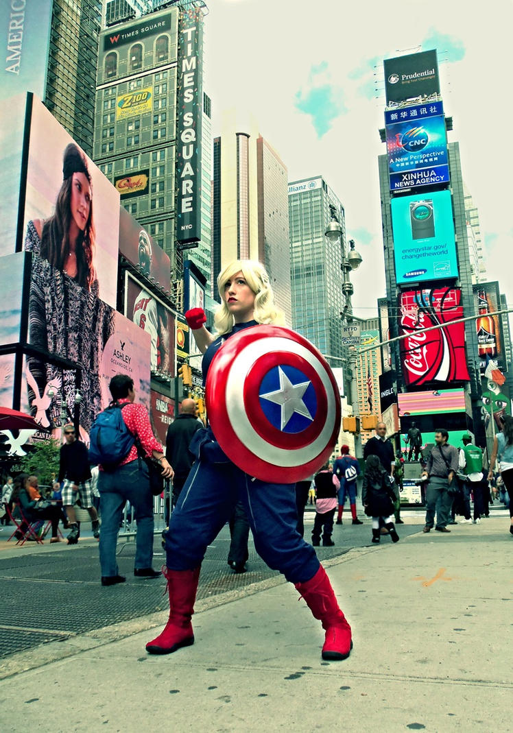 Time Square by BluRockAngelCostumes