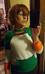 Pidge WIP by BluRockAngelCostumes